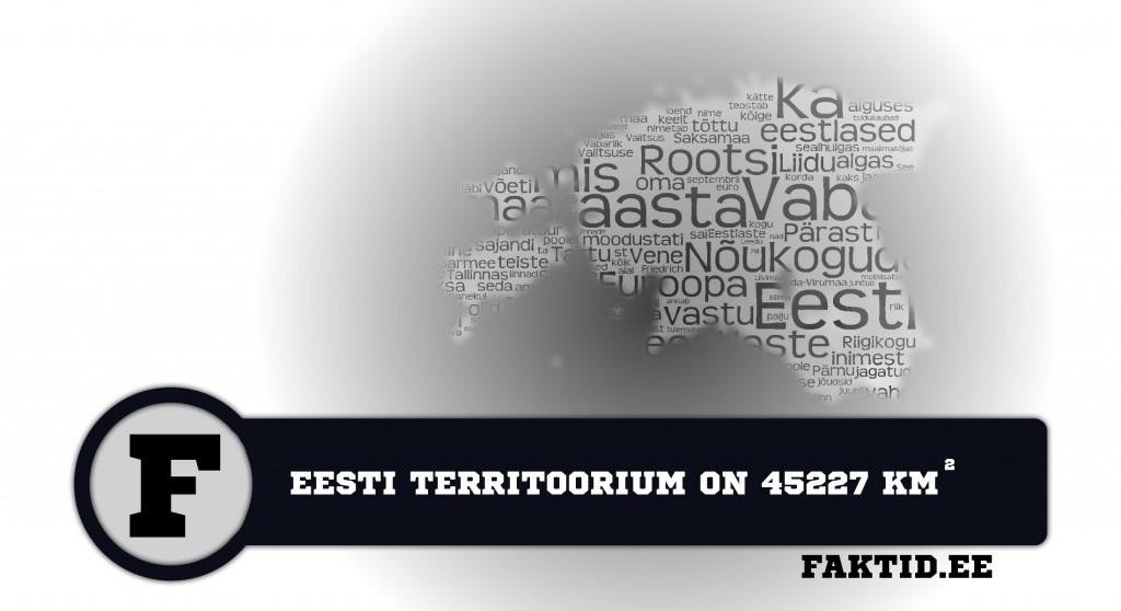 EESTI TERRITOORIUM ON 45227 KM2 Eesti fakt 2 1024x558