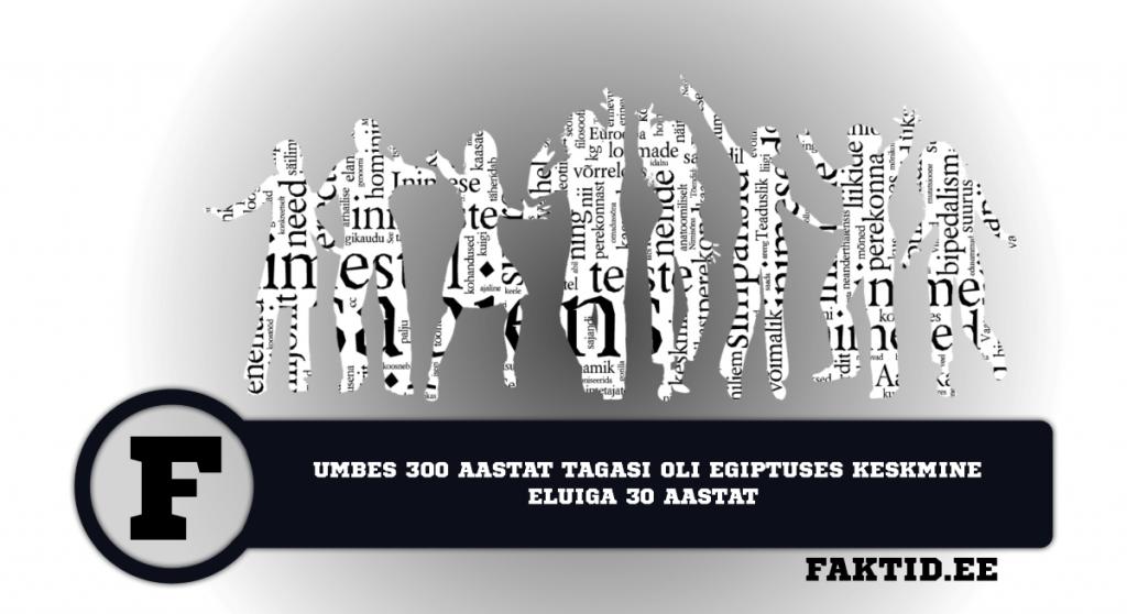 UMBES 300 AASTAT TAGASI OLI EGIPTUSES KESKMINE ELUIGA 30 AASTAT. inimene 19 1024x558