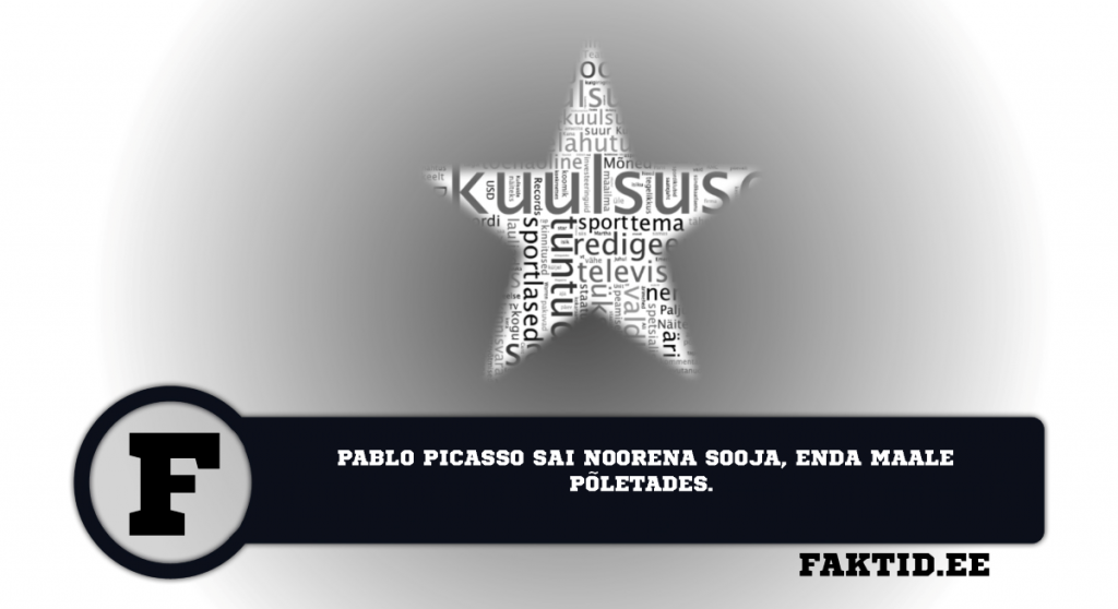 PABLO PICASSO SAI NOORENA SOOJA ENDA MAALE PÕLETADES. kuulsused 11 1024x558