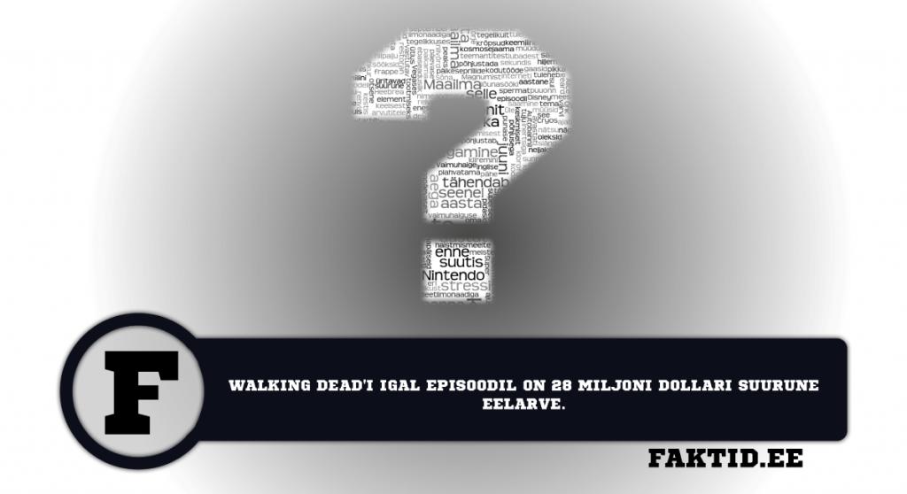 WALKING DEADI IGAL EPISOODIL ON 28 MILJONI DOLLARI SUURUNE EELARVE. varia 36 1024x558
