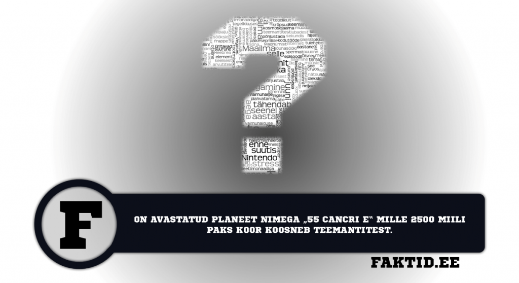 ON AVASTATUD PLANEET NIMEGA 55 CANCERI E MILLE 2500 MIILI PAKS KOOR KOOSNEB TEEMANTITEST. varia 9 1024x558