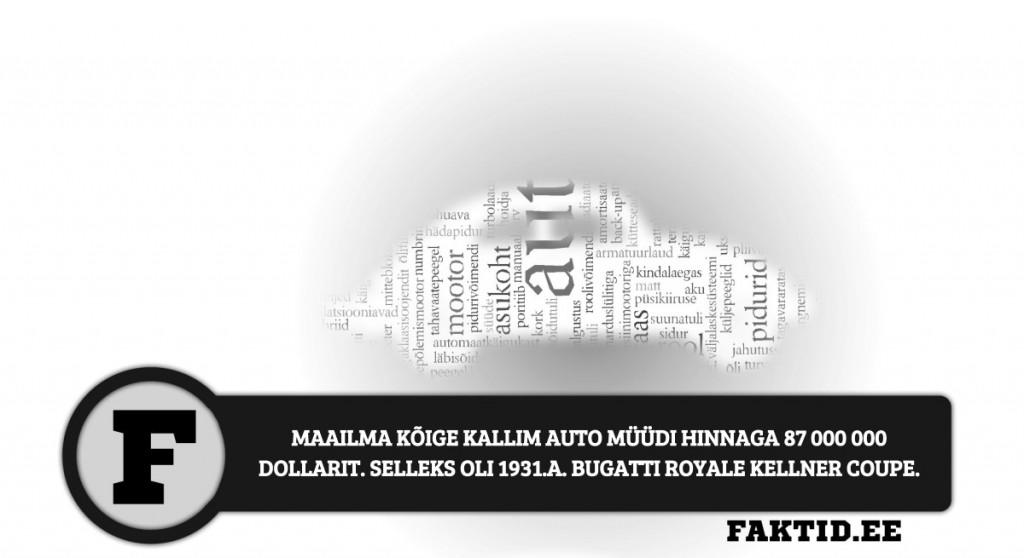 MAAILMA KÕIGE KALLIM AUTO MÜÜDI HINNAGA 87 000 000 DOLLARIT. SELLEKS OLI 1931.A. BUGATTI ROYALE KELLNER COUPE autod 27 1024x558