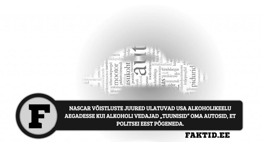 NASCAR VÕISTLUSTE JUURED ULATUVAD USA ALKOHOLIKEELU AEGADESSE KUI ALKOHOLI VEDAJAD TUUNISID OMA AUTOSID, ET POLITSEI EEST PÕGENEDA autod 5 1024x558