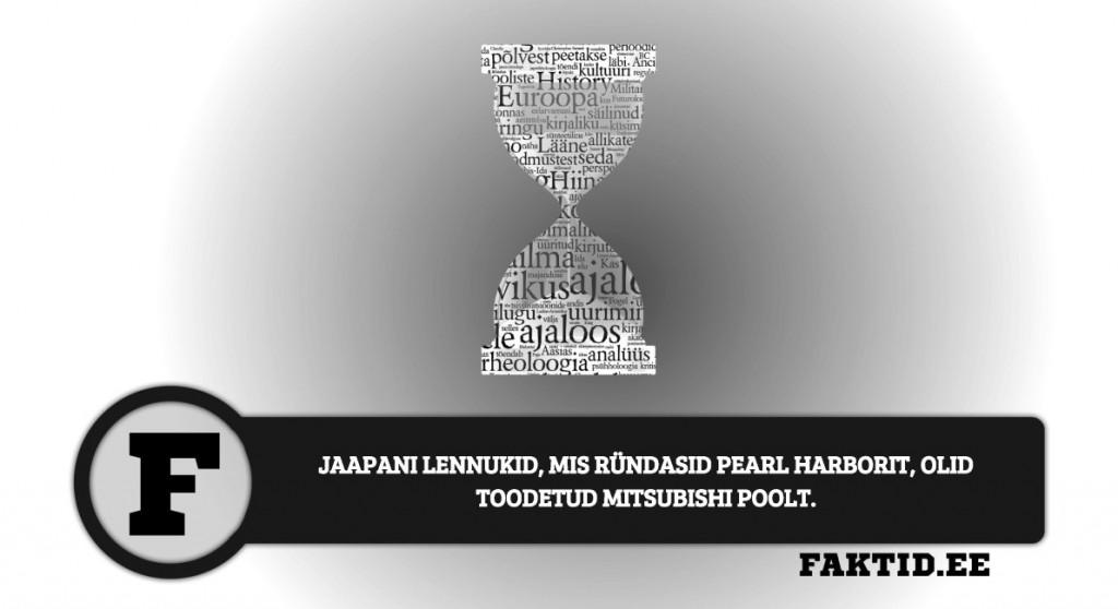 JAAPANI LENNUKID, MIS RÜNDASID PEARL HARBORIT, OLID TOODETUD MITSUBISHI POOLT. ajalugu 21 1024x558