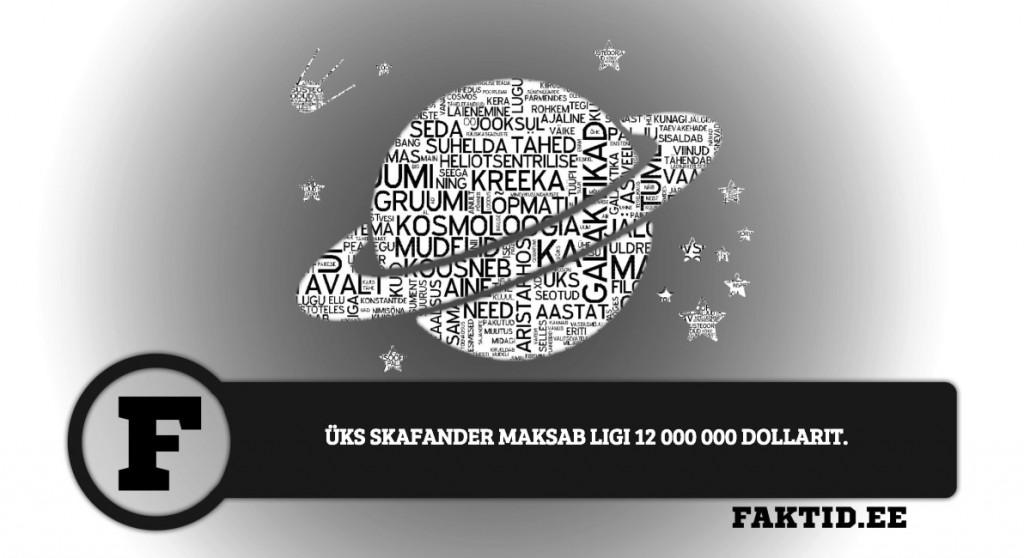 ÜKS SKAFANDER MAKSAB LIGI 12 000 000 DOLLARIT kosmos 1 1024x558