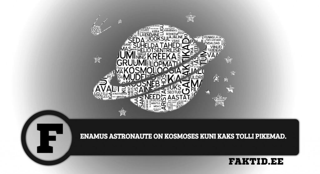 ENAMUS ASTRONAUTE ON KOSMOSES KUNI KAKS TOLLI PIKEMAD kosmos 7 1024x558