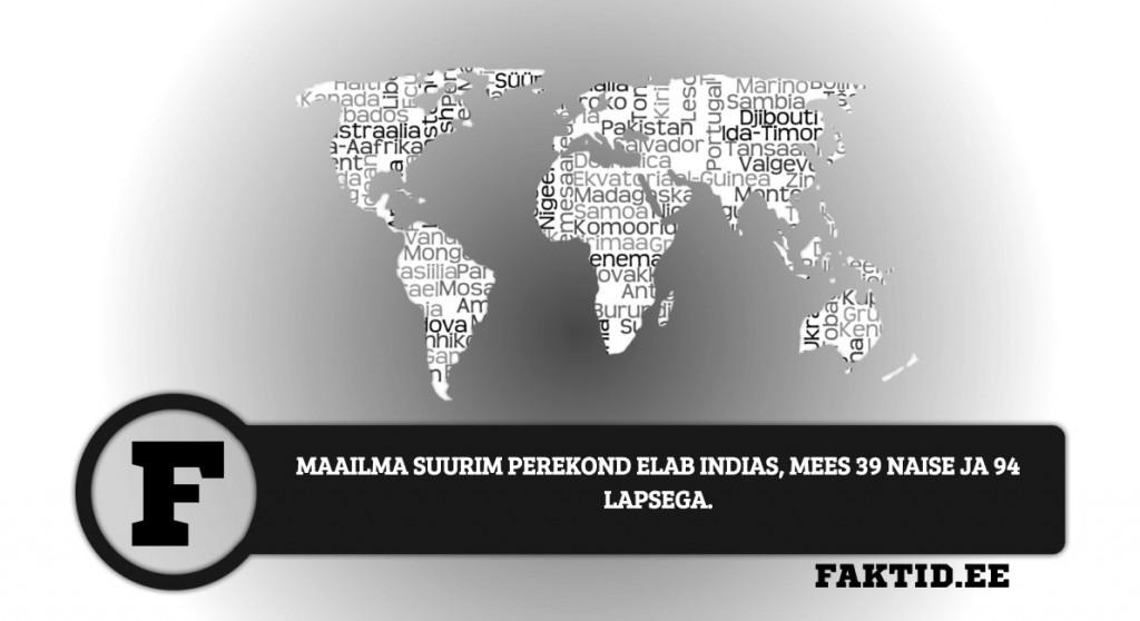 MAAILMA SUURIM PEREKOND ELAB INDIAS, MEES 39 NAISE JA 94 LAPSEGA riigid 78 1024x558