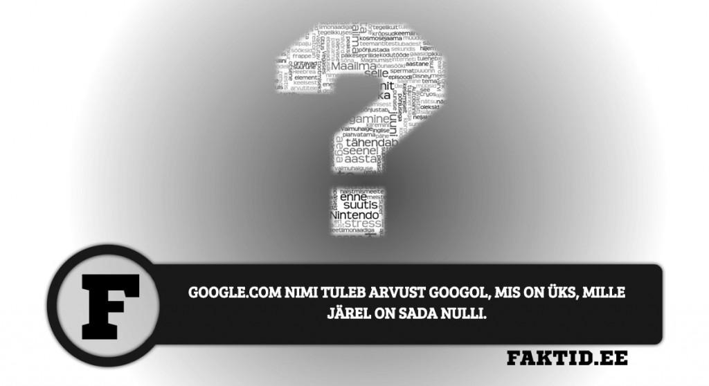 GOOGLE.COM NIMI TULEB ARVUST GOOGOL, MIS ON ÜKS, MILLE JÄREL ON SADA NULLI varia 119 1024x558