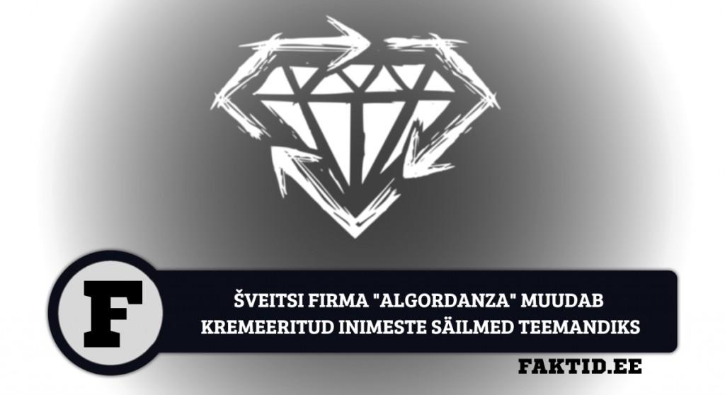 ŠVEITSI FIRMA ALGORDANZA MUUDAB KREMEERITUD INIMESTE SÄILMED TEEMANDIKS teemant 1024x558
